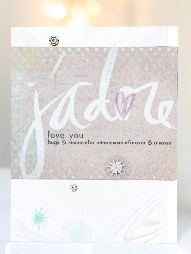 J'adore Card by Taheerah Atchia