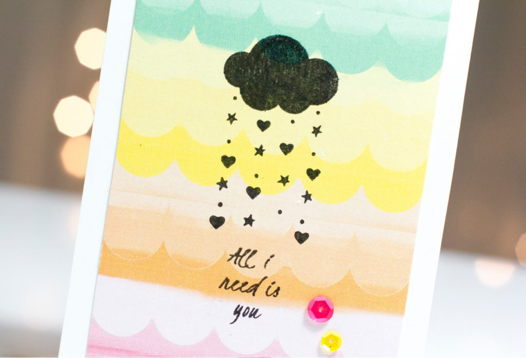 All I Need Is You Love Showers card by Taheerah Atchia