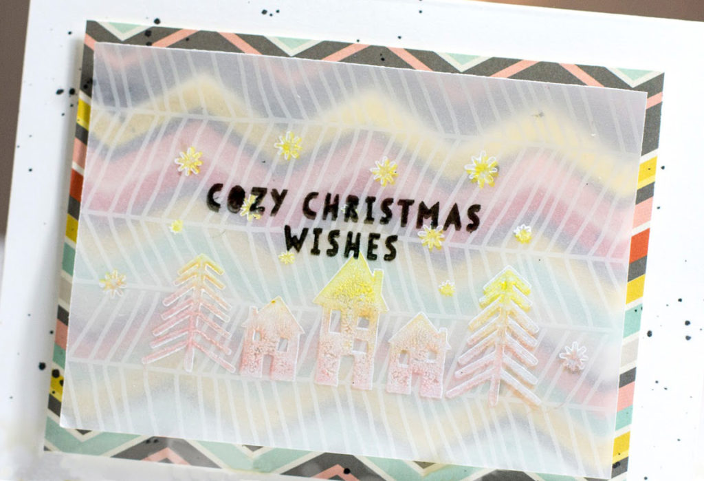Cosy Christmas Wishes card by Taheerah Atchia
