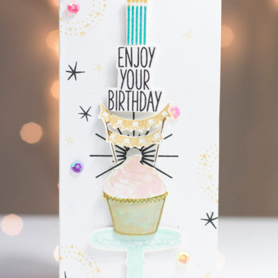 Enjoy Your Birthday card by Taheerah Atchia