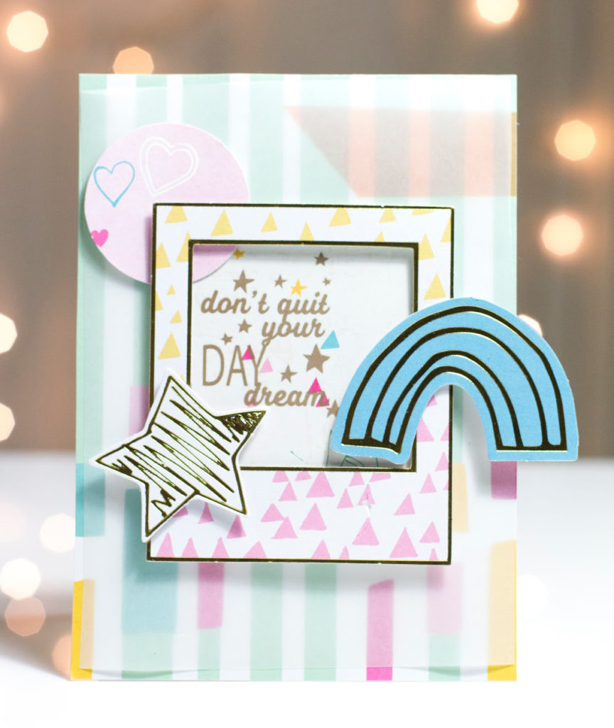 Whimsical Daydream card by Taheerah Atchia