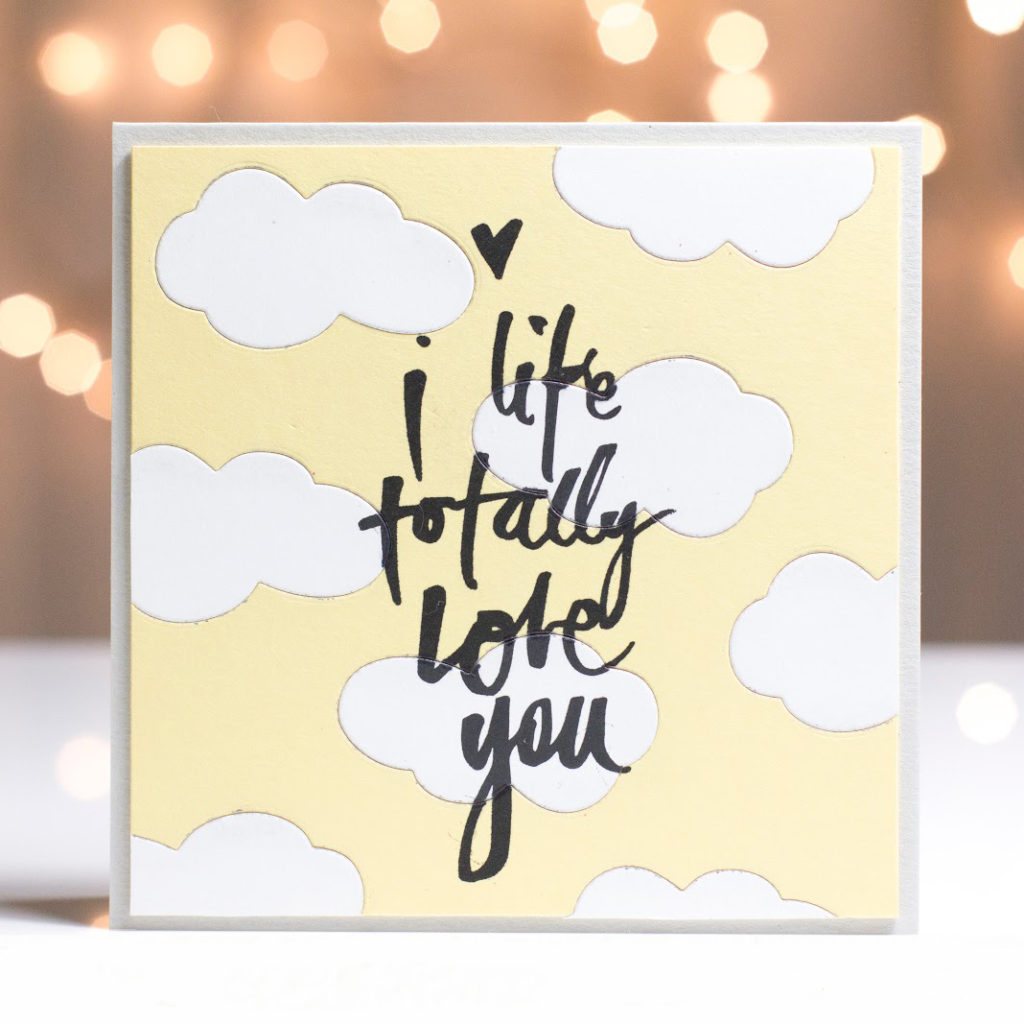 Totally Love You card by Taheerah Atchia