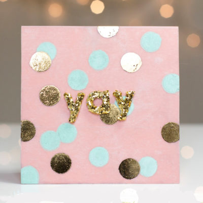Yay Bokeh Celebration card by Taheerah Atchia