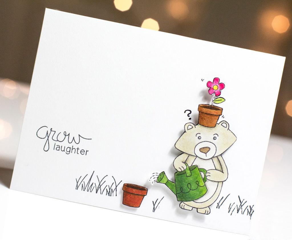 Grow Laughter card by Taheerah Atchia