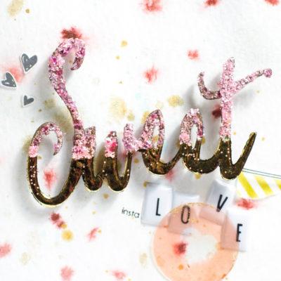 Sweet Love card by Taheerah Atchia