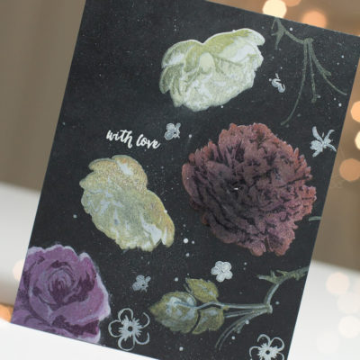 Floral With Love card by Taheerah Atchia
