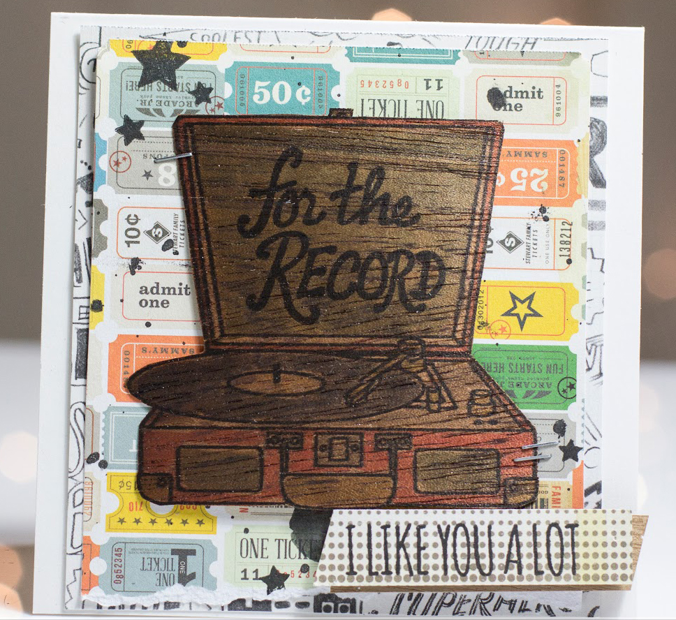For The Record card by Taheerah Atchia