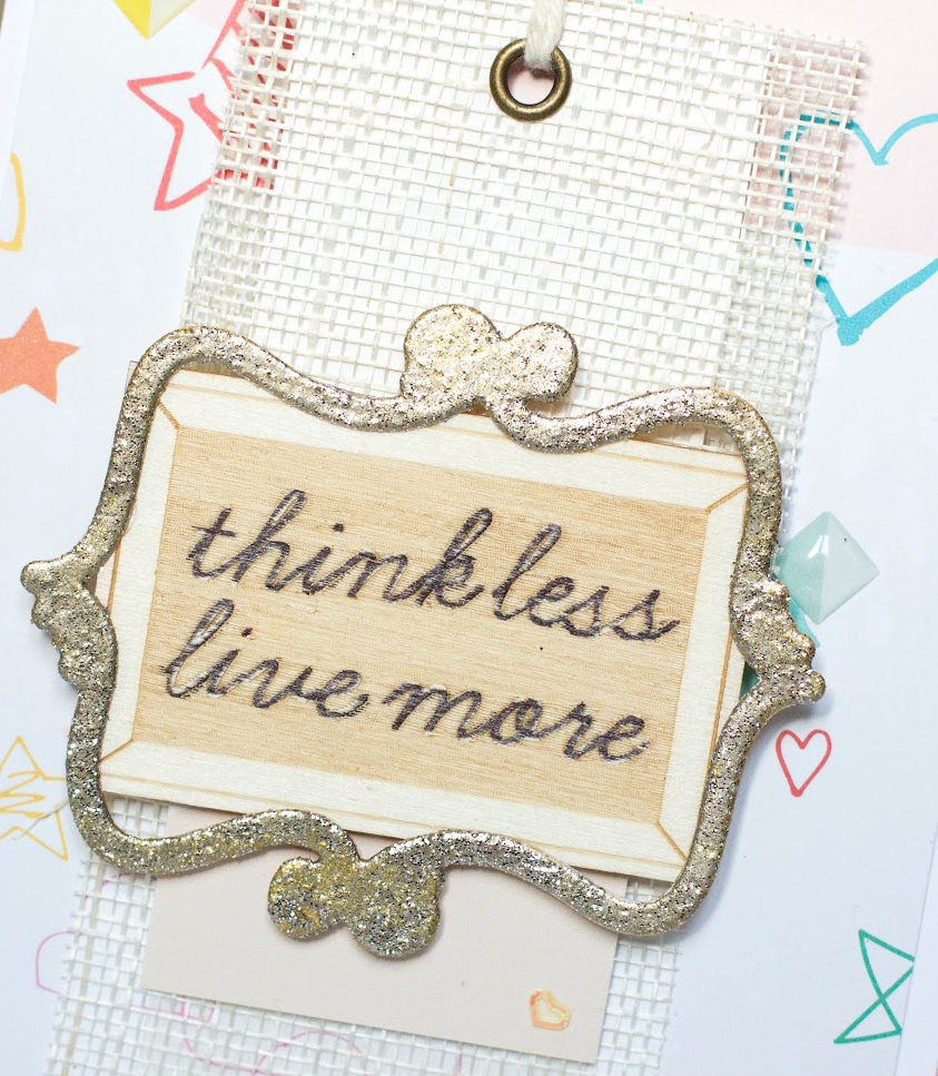 Think Less Live More card by Taheerah Atchia