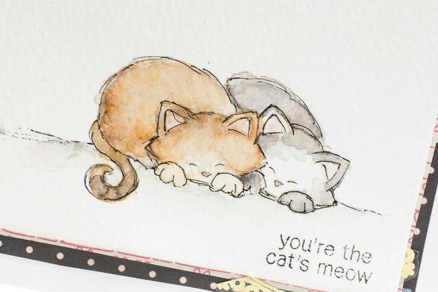 You're The Cat's Meow card by Taheerah Atchia