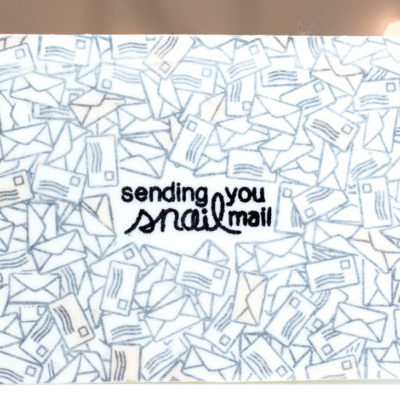 Sending You Snail Mail card-by Taheerah Atchia