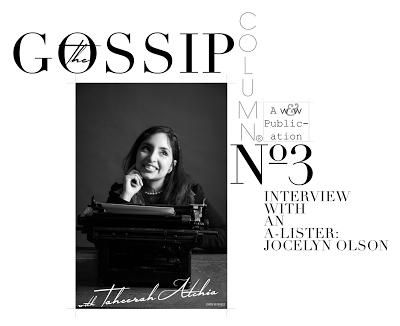 The Gossip Column Issue 3 graphic