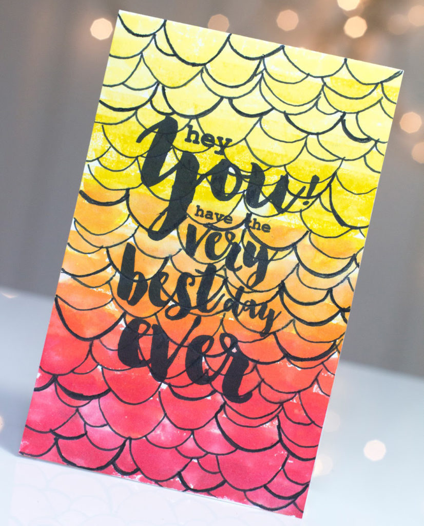 Best Day Ever card by Taheerah Atchia