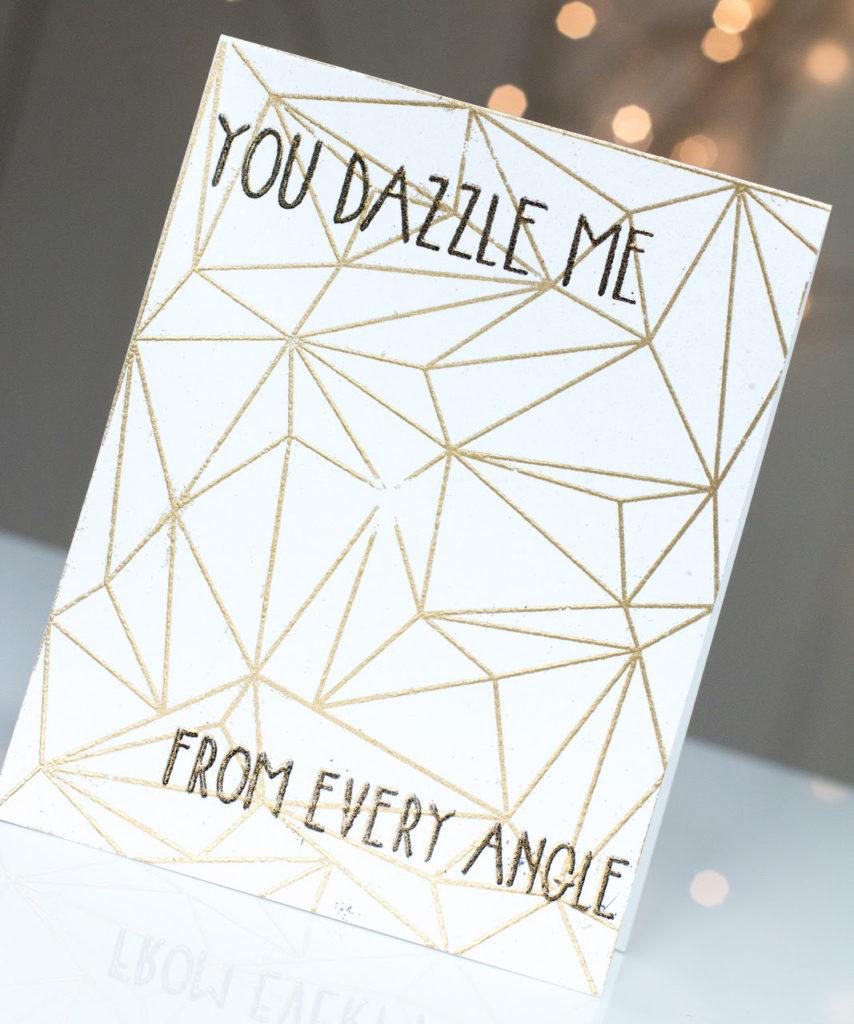 You Dazzle Me card by Taheerah Atchia