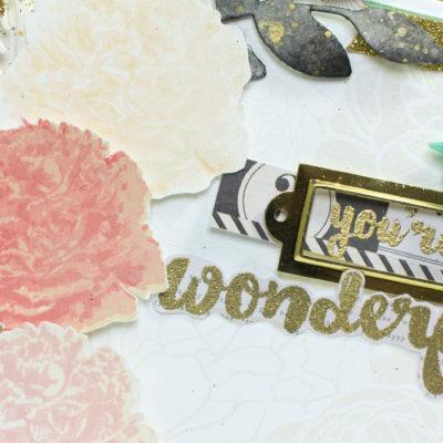 You're Wonderful card by Taheerah Atchia