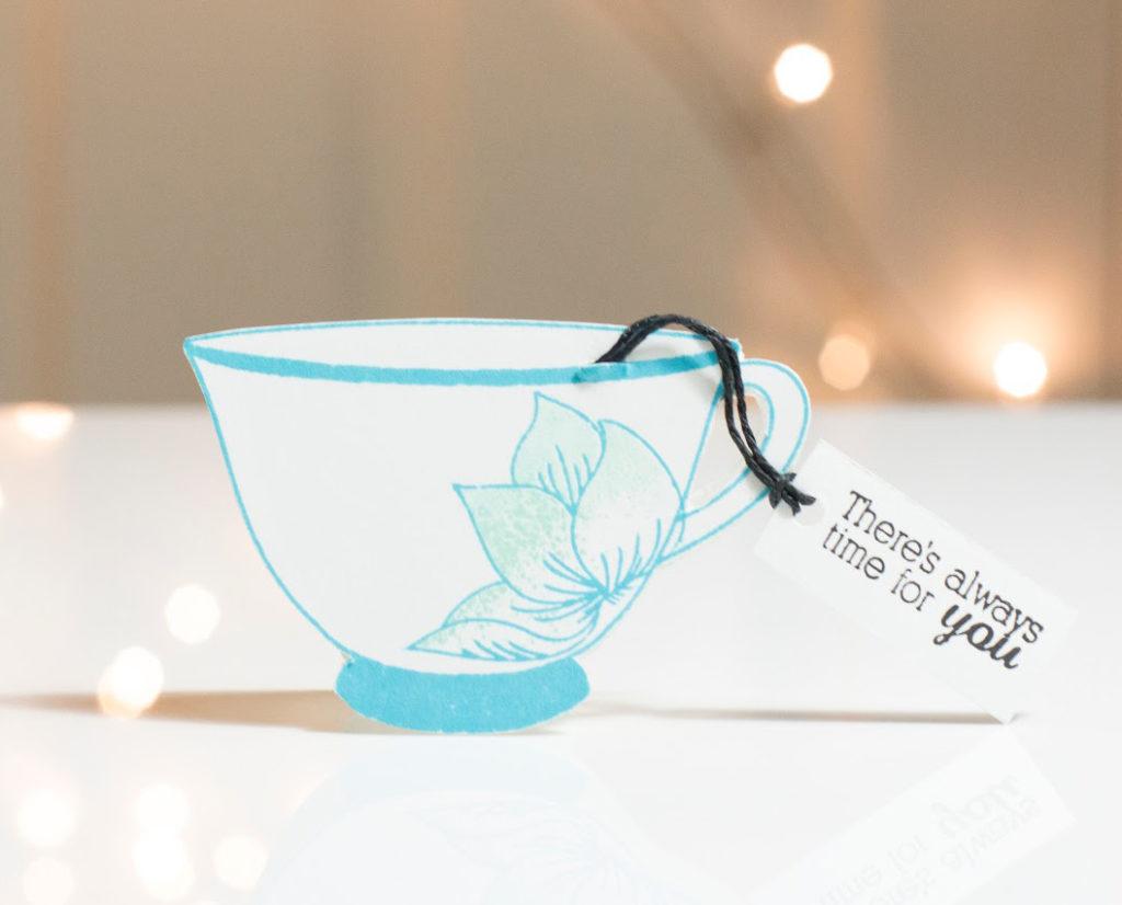 Tea Cup mini card by Taheerah Atchia