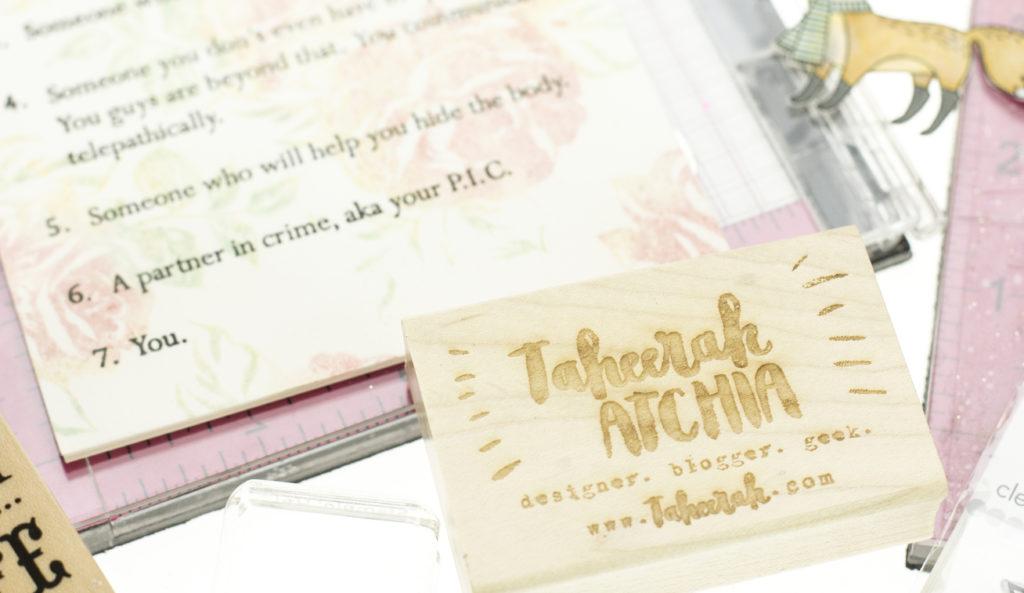 Taheerah Atchia stamp