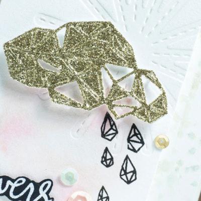 Close-up of trendy card by Taheerah Atchia