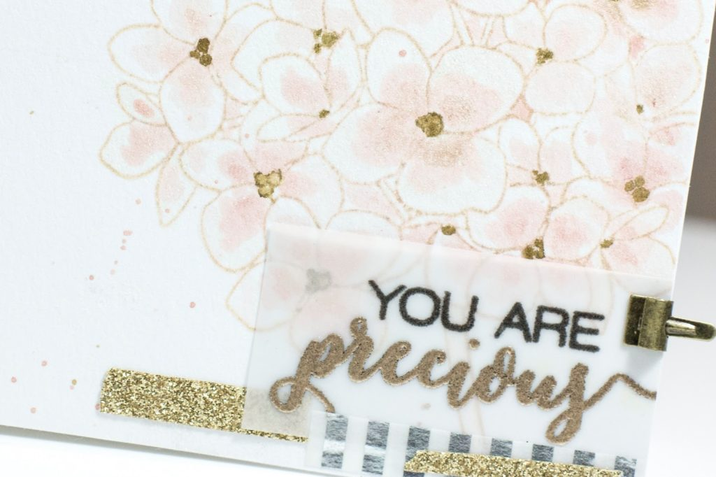 You Are Precious Floral Card by Taheerah Atchia