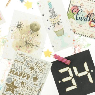 Birthday cards by Taheerah Atchia