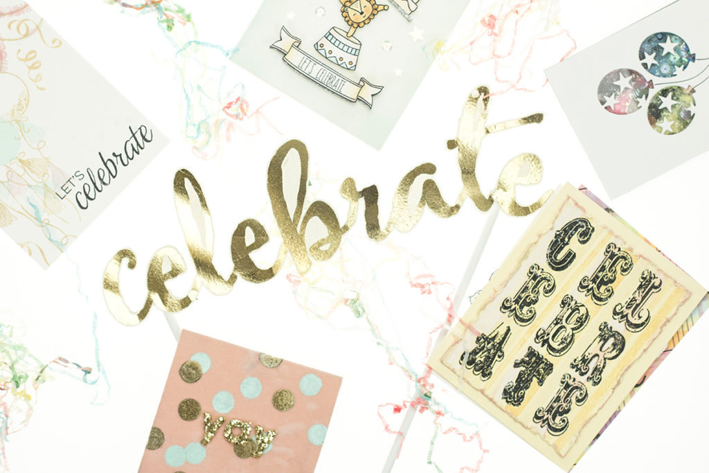 Celebration cards by Taheerah Atchia