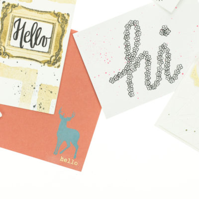 Hello cards by Taheerah Atchia