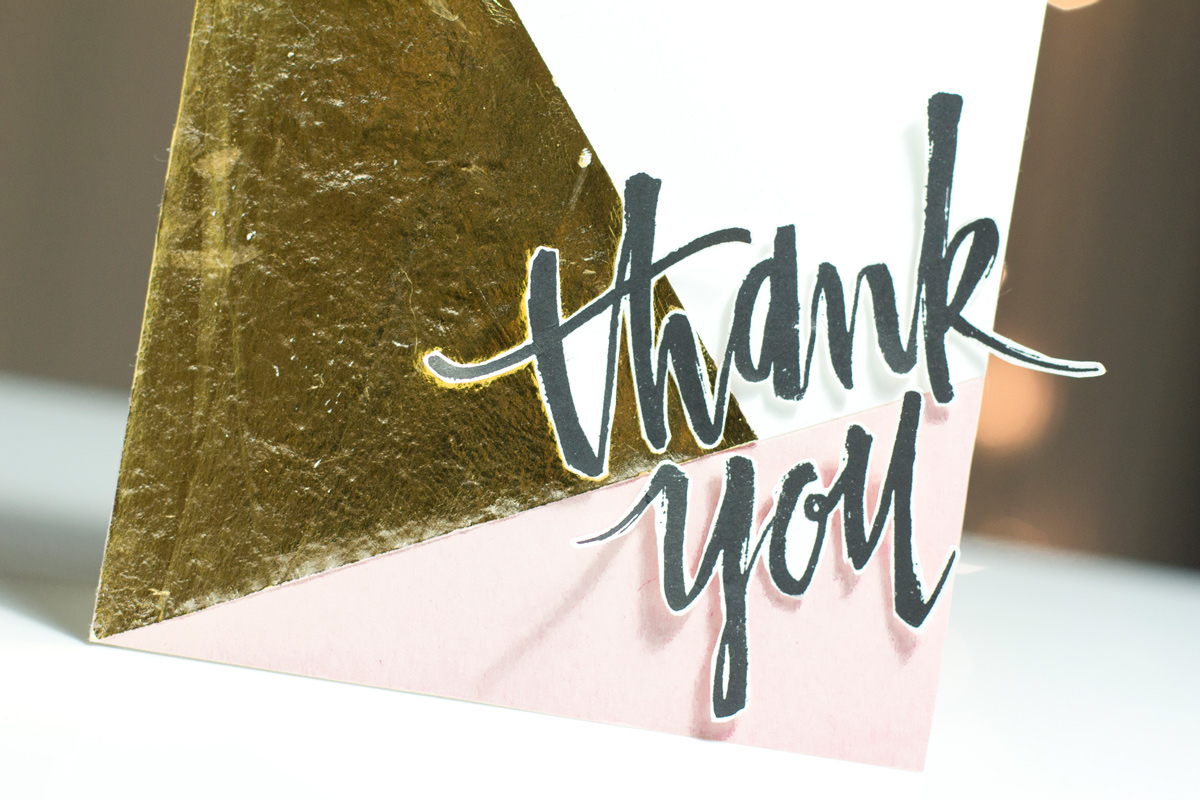 Colour Block Thank You Card-by Taheerah Atchia Close-Up
