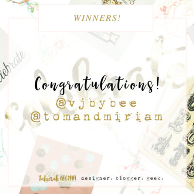 Instagram Giveaway Winners