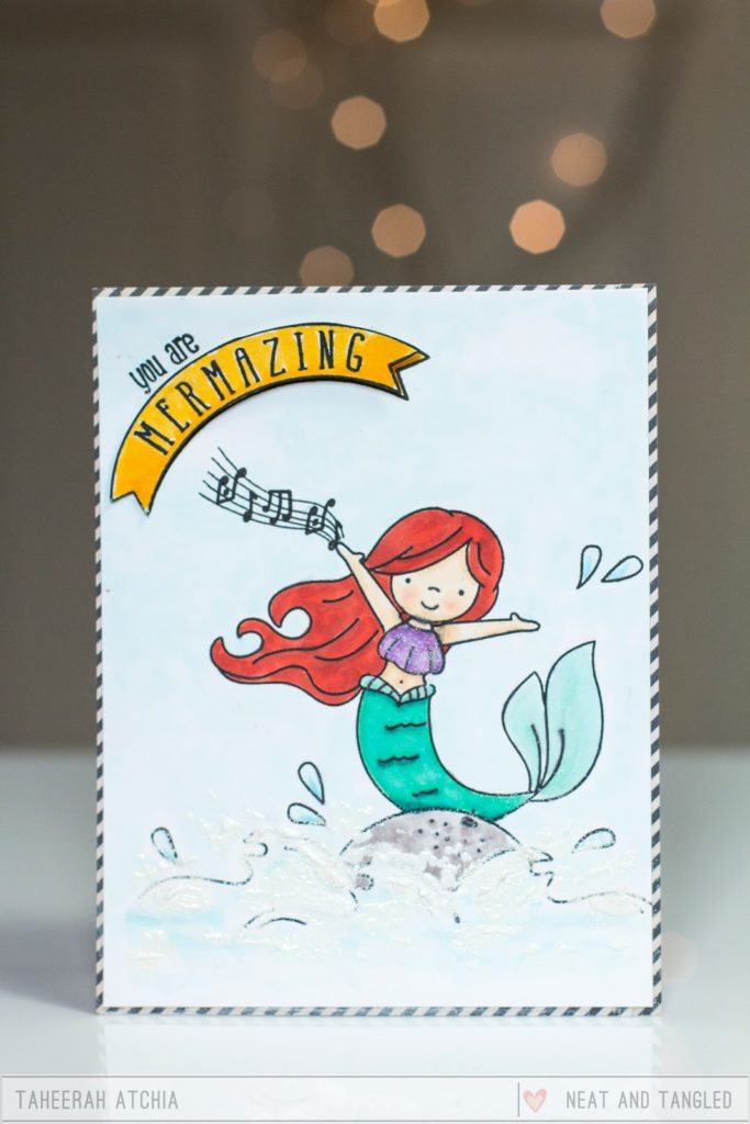 You Are Mermazing Card by Taheerah Atchia