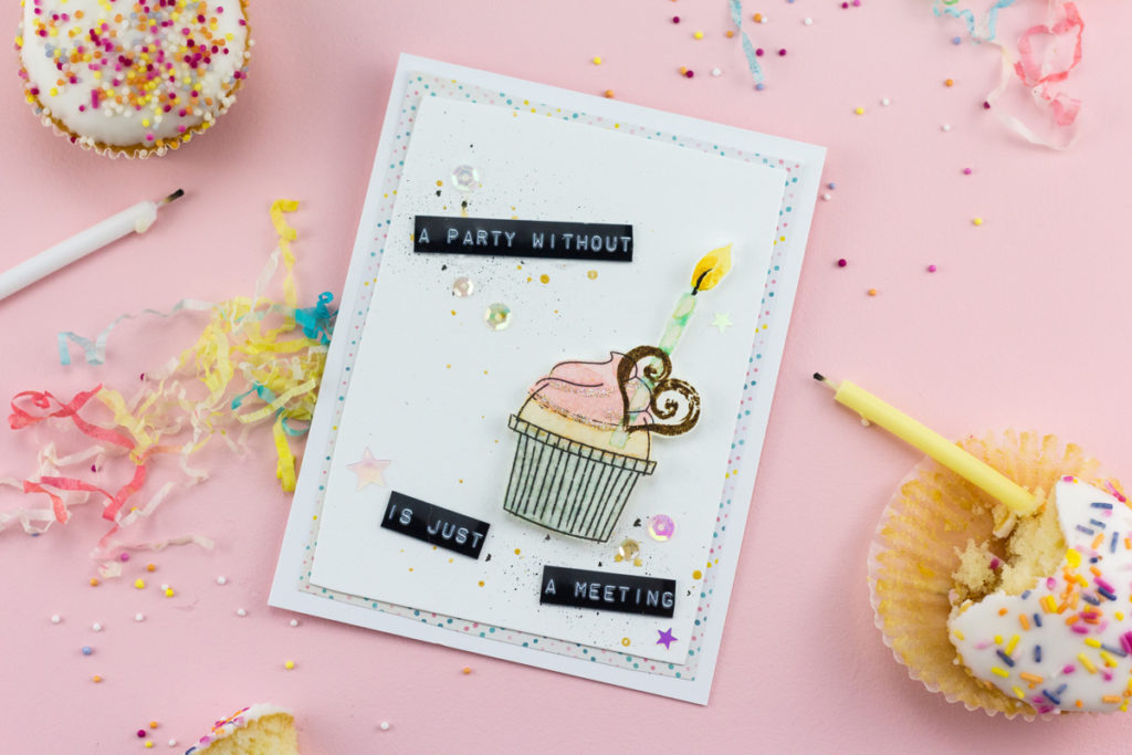 A Party Without Cake is Just A Meeting Card by Taheerah Atchia