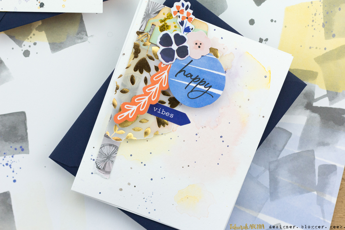 Happy Vibes Card by Taheerah Atchia