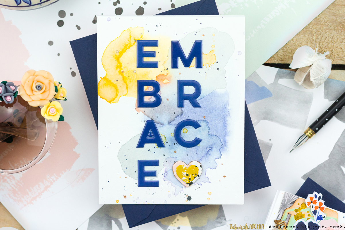 Embrace Love Card by Taheerah Atchia