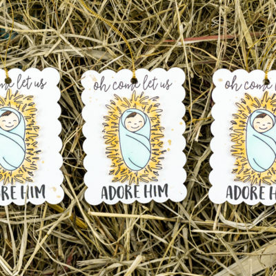 Please Deliver Little Baby Jesus Tags by Taheerah Atchia