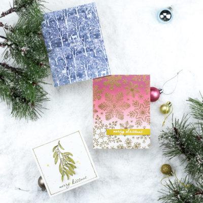 Christmas Cards with Hero Arts by Taheerah Atchia