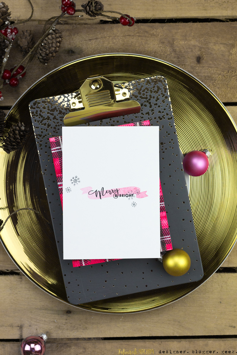 Merry & Bright Banner Card by Taheerah Atchia