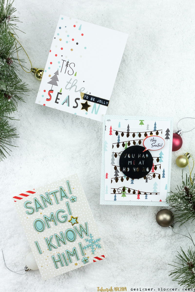 Oh Joy Christmas Cards by Taheerah Atchia
