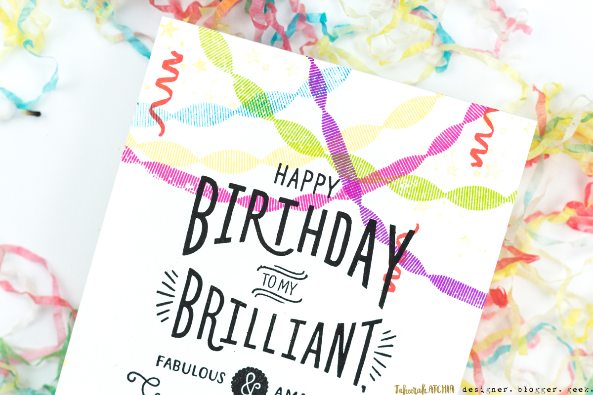 Brilliant Best Friend Birthday Card by Taheerah Atchia