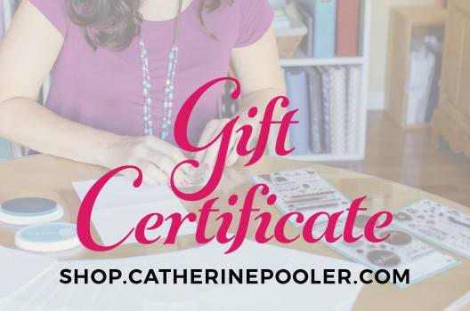 Catherine Pooler Gift Certificate Prize Graphic