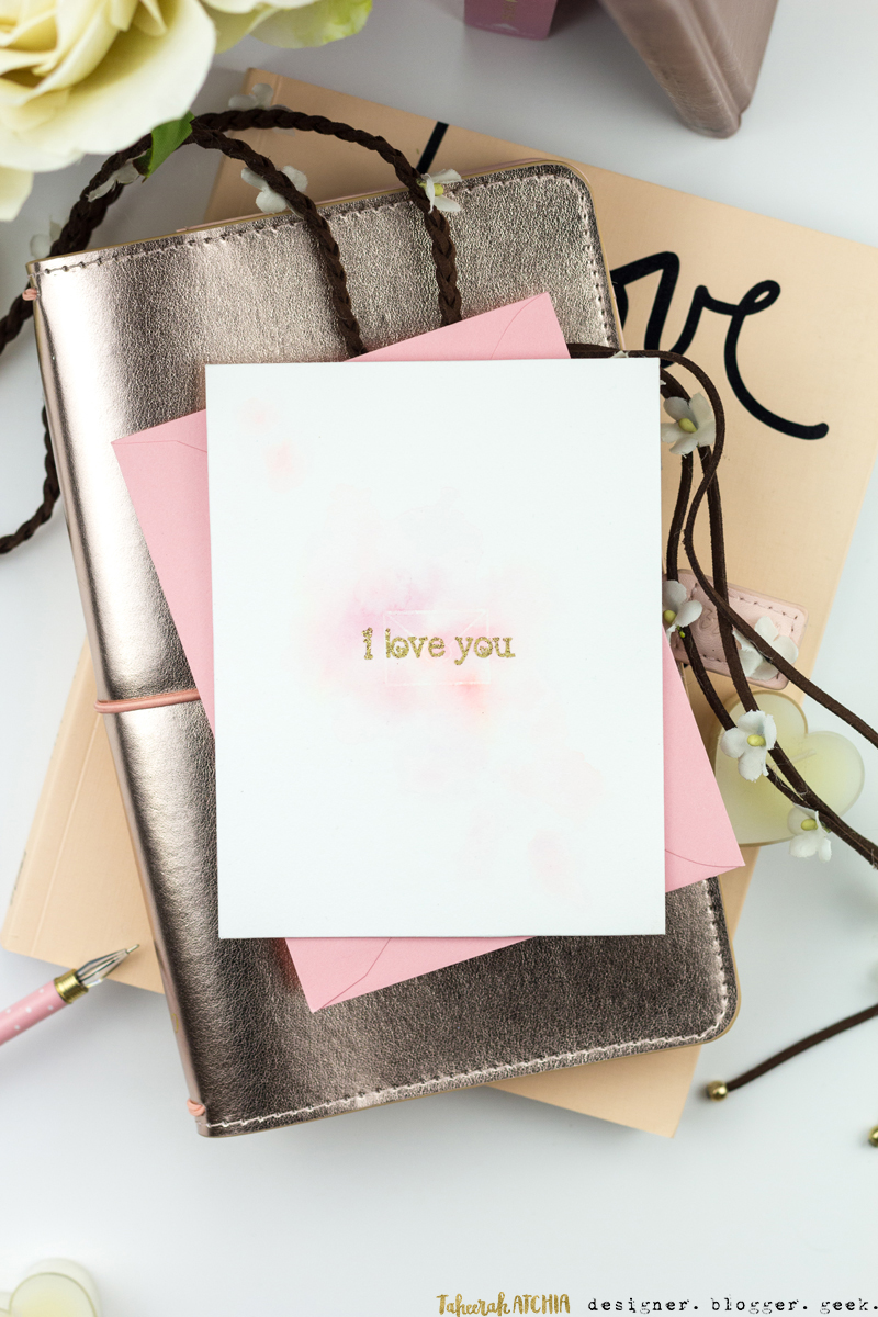 Love Letter Card by Taheerah Atchia