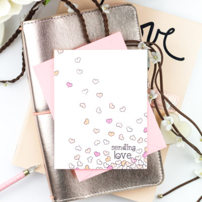 Sending Love Card by Taheerah Atchia
