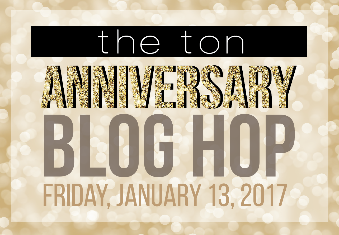 The Ton Anniversary Blog Hop Graphic