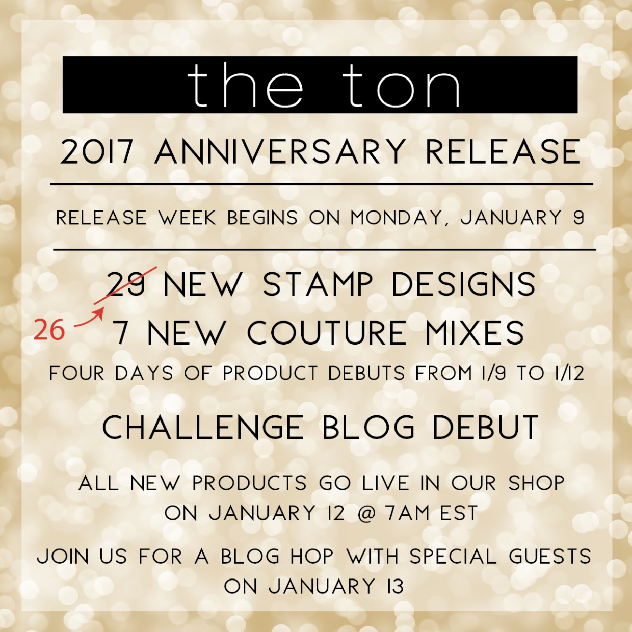 The Ton Anniversary Release Graphic