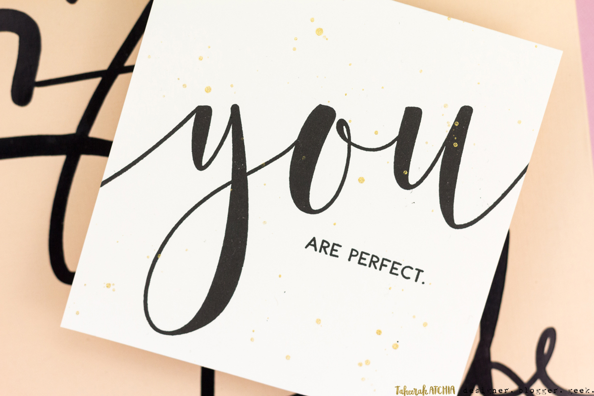 You Are Perfect Card by Taheerah Atchia