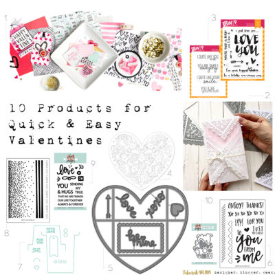 10 Products for Quick & Easy Valentines