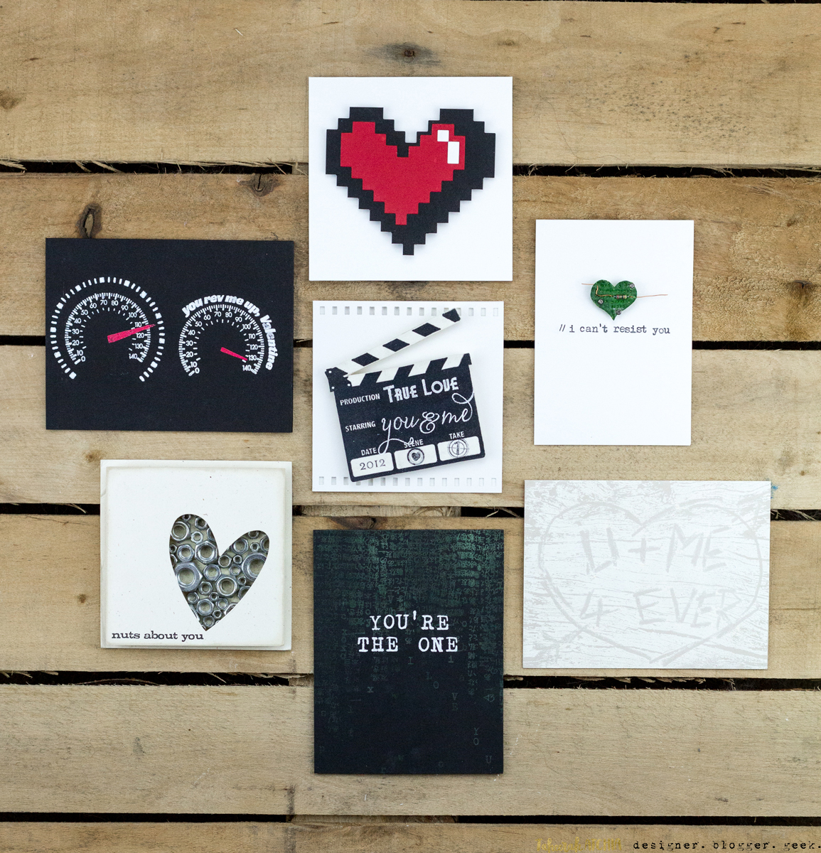 Quick & Easy Valentines Cards for Guys by Taheerah Atchia