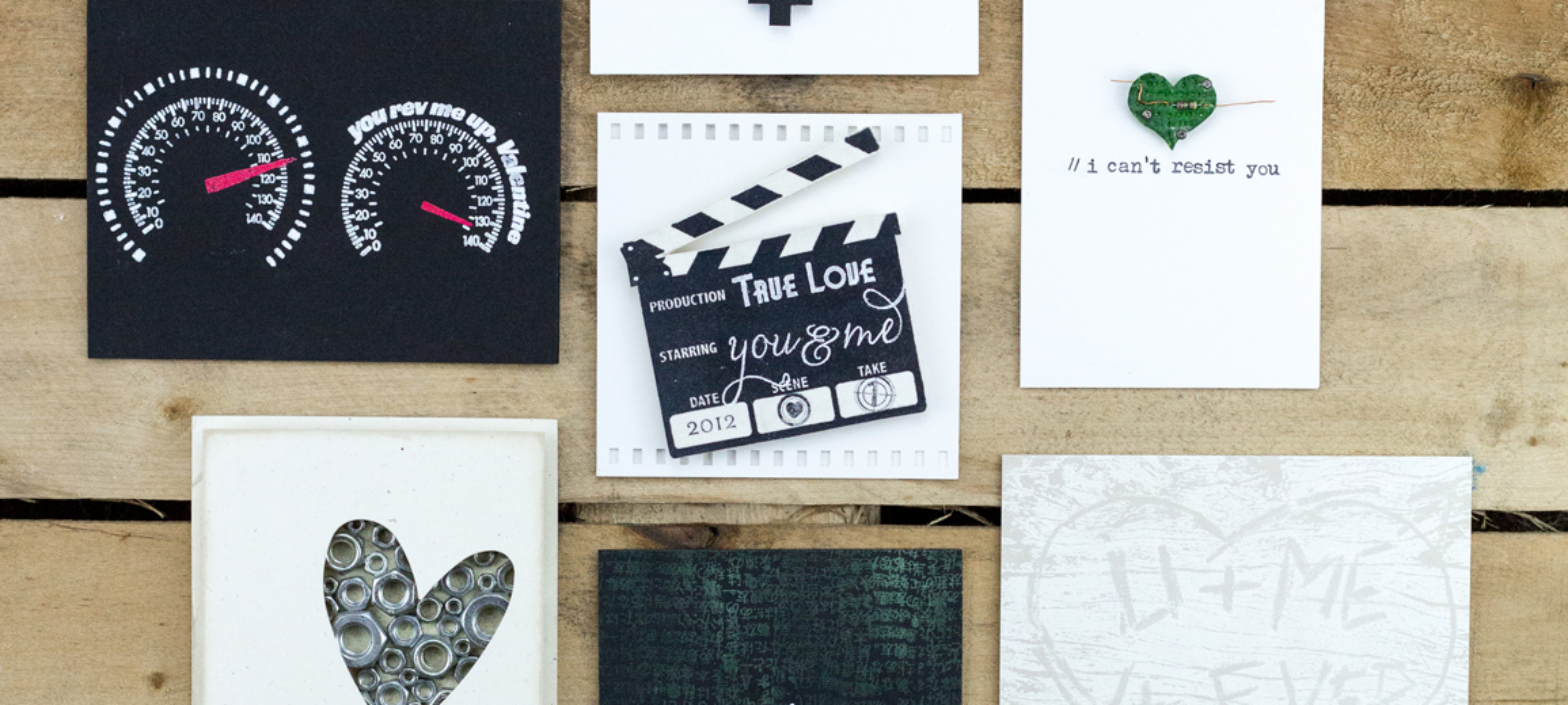 Quick & Easy Valentine's With Big Impact – Valentine's Cards for Guys
