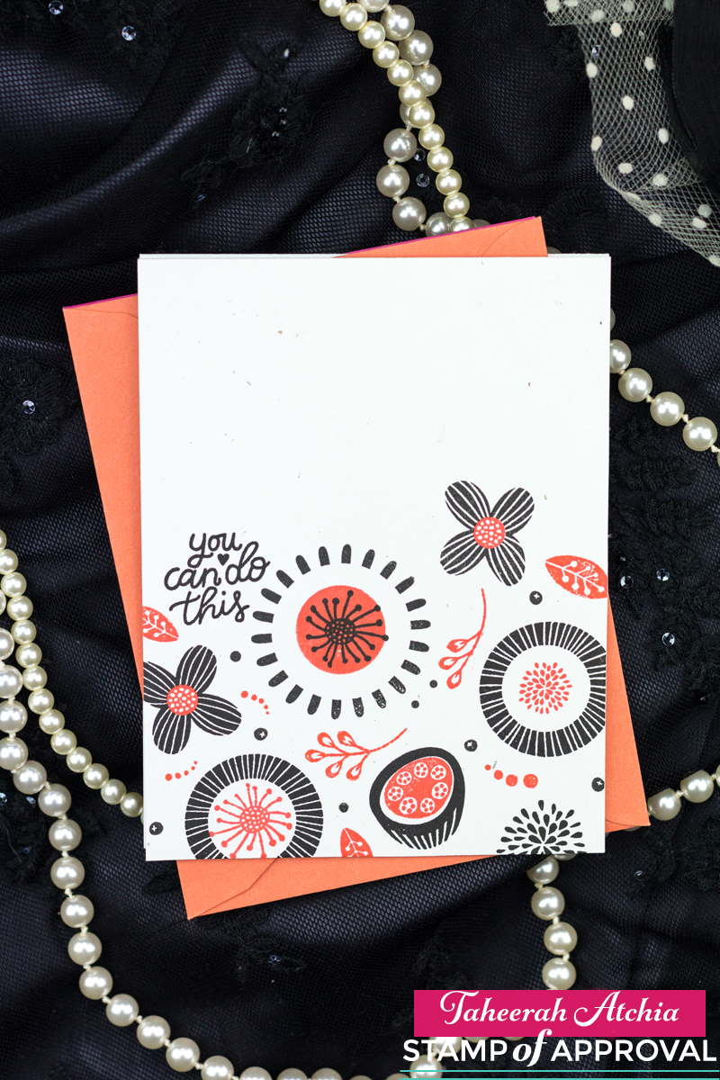 You Can Do This Floral Card by Taheerah Atchia
