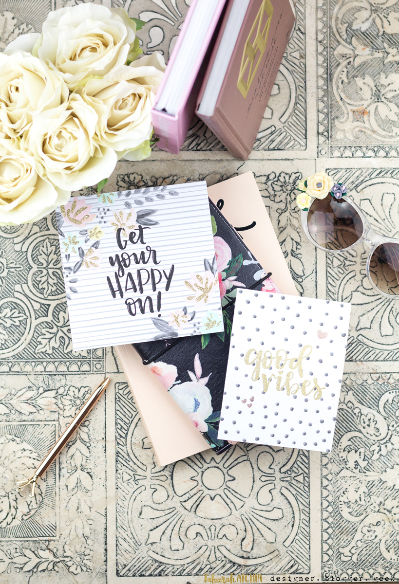 Floral Fill-In Cards by Taheerah Atchia