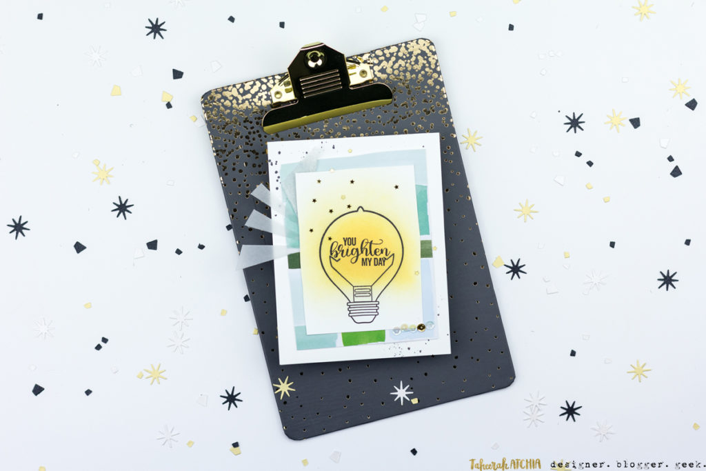 You Brighten My Day Card by Taheerah Atchia