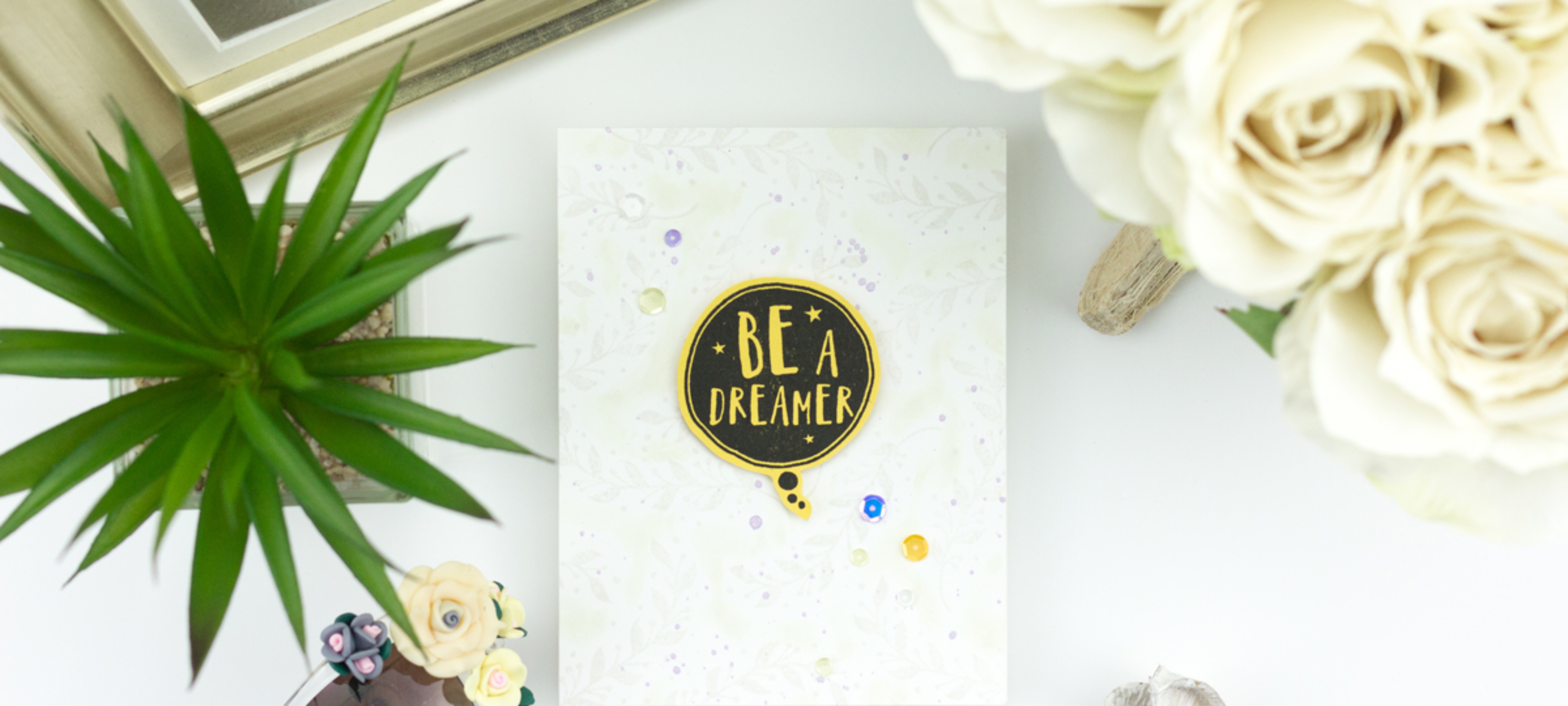 Dream & Believe Encouragement Cards - Altenew's 3rd Anniversary Blog Hop And A Giveaway!