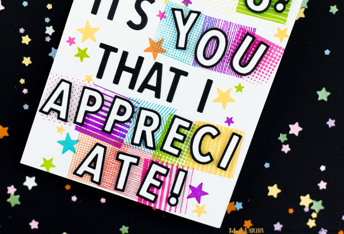 Cheerleader Varsity-Style Thank You Card by Taheerah Atchia